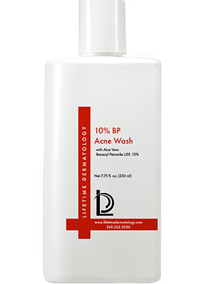 10% BP Acne Wash