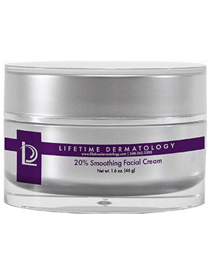 20% Smoothing Facial Cream