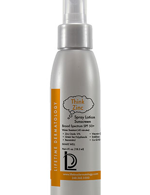 Spray Lotion Sunscreen