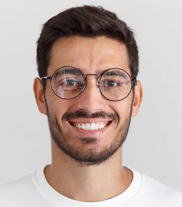 Middle Eastern Man Dermatology